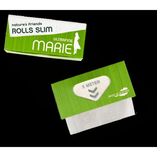 Marie Nature's Friends Rolls Slim Ultrafine Endless papers hemp cigarette paper, 5 meters