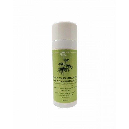 Natural hemp hair shampoo with hemp extract, 200ml