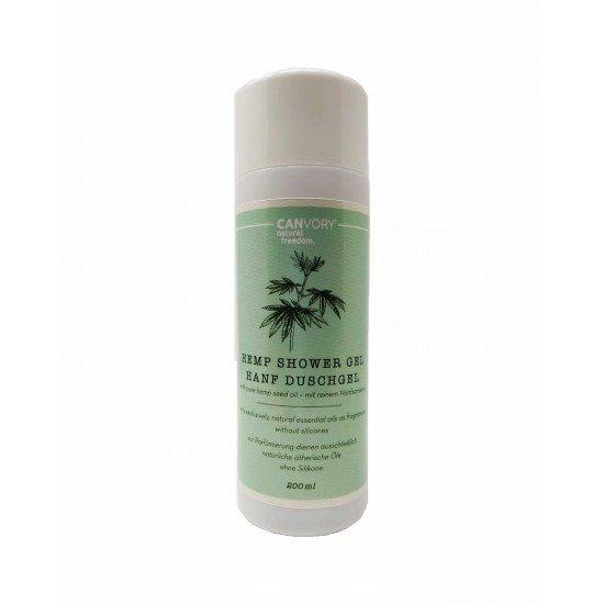 Natural hemp shower gel with hemp extract, 200ml