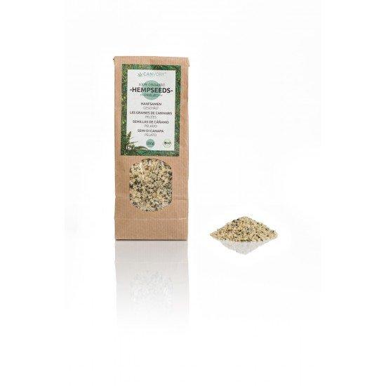 Organic hemp seeds (peeled, 150g)