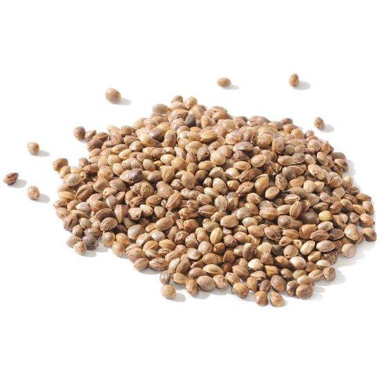 Organic hemp seeds (unpeeled, 150g)